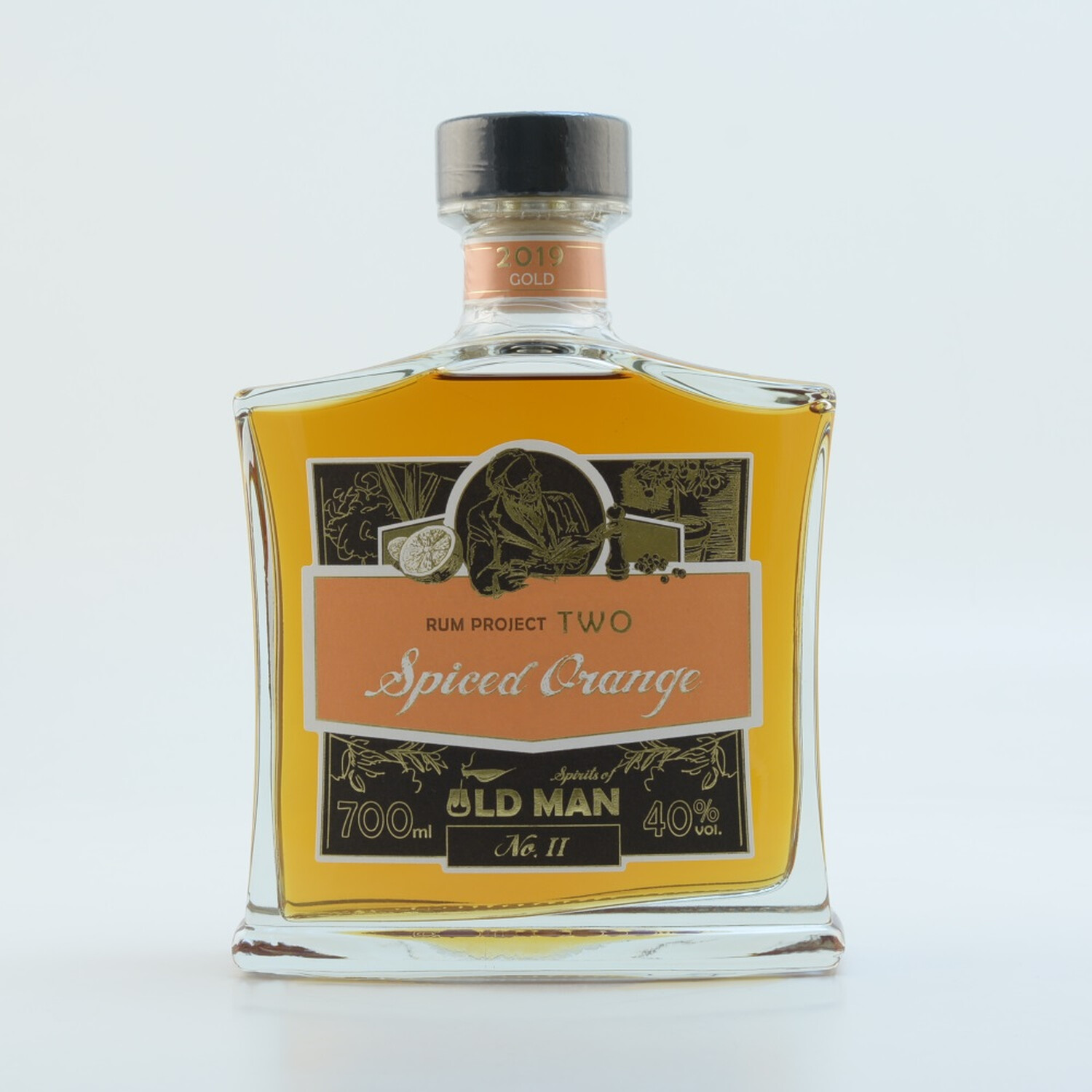 """Rum Project Two"" (Spiced Orange) by Spirits of Old Man 40% 0,7l"