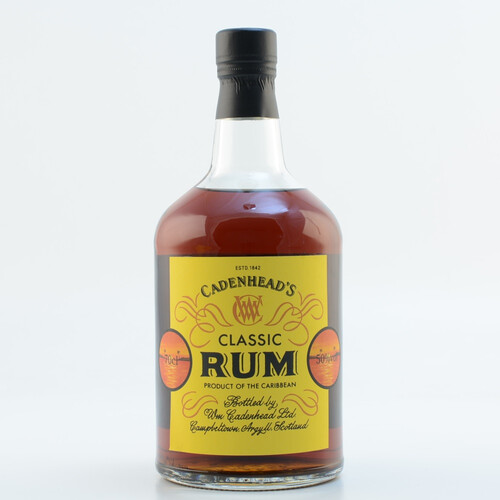 Cadenhead's Classic Rum Produce of the Caribbean 50% 0,7l