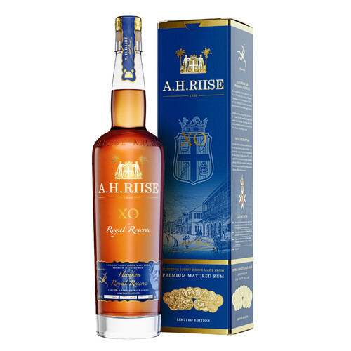 A.H. Riise XO Royal Reserve Kong Haakon Special Edt. Rum 42% 0,7l