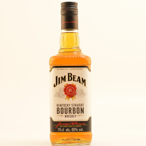 Jim Beam White Label Bourbon Whiskey 40% 0,7l