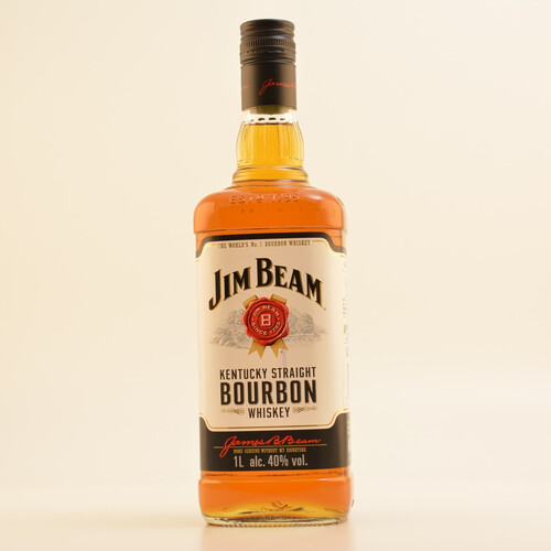 Jim Beam White Label Bourbon Whiskey 40% 1,0l