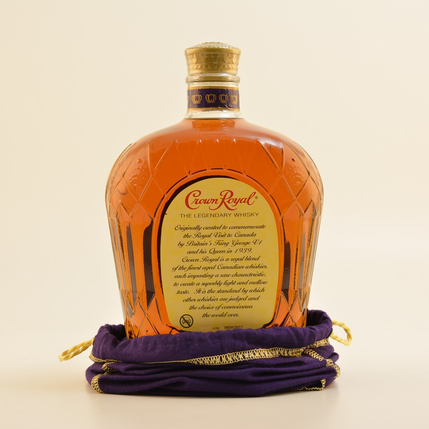 Crown Royal Canadian Whisky 40% 1,0l