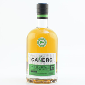 Ron Canero 12 Solera Ron Dominicano Malt Whisky Finish Rum 43% 0,7l