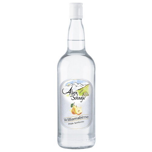 Alpenschnaps Steinbeisser Williamsbirne 35% 1,0l