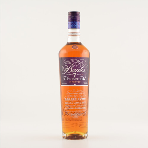 Banks 7 Golden Age Rum 43% 0,7l