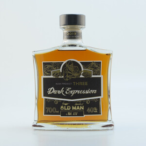 """Rum Project Three"" (Dark Expression) by Spirits of Old Man 40% 0,7l"