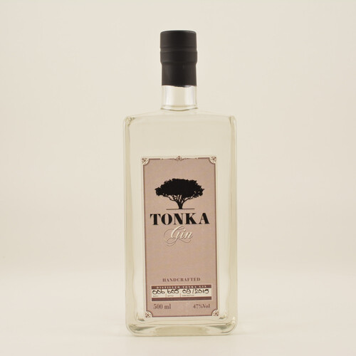 Tonka Gin 47% 0,5l + 2x Goldberg Tonic Water 0,15l