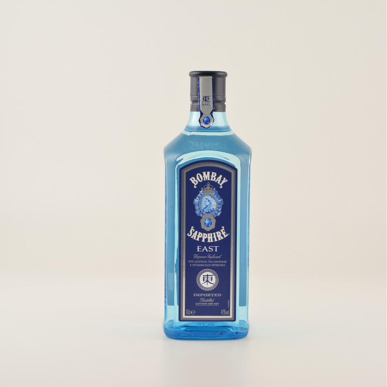 bombay sapphire east dry gin 42 0 7l 24 50. Black Bedroom Furniture Sets. Home Design Ideas