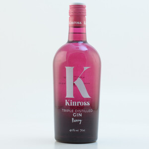 Kinross Wild Berry Fruits Premium Gin 40% 0,7l