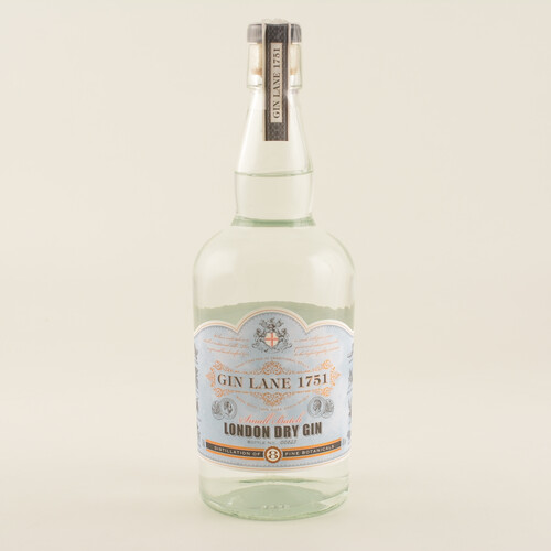 Gin Lane 1751 London Dry Gin 40% 0,7l