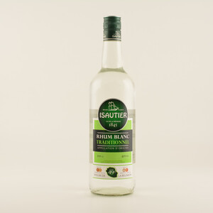 Isautier Blanc Traditional Rum 49% 1,0l