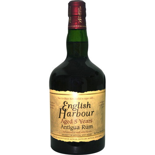 English Harbour Rum 5 Jahre 40% 0,7l