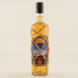 Taste DeLuxe Golden Coconut Rum Liqueur Gold Leaf Limited Edt. 40% 0,7l