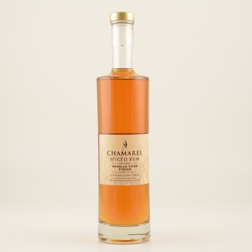 Chamarel Spiced Vanilla Cask Finish (Rum-Basis) 40% 0,7l
