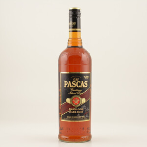 Old Pascas Ron Negro Dark Barbados Rum 37,5% 1,0l