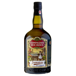 CDI Jamaica Navy Strength Rum 57% 0,7l