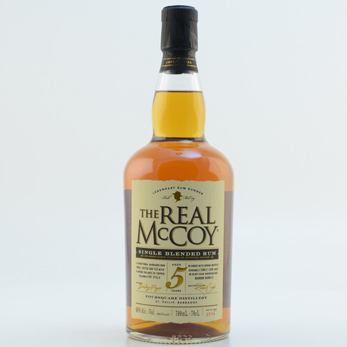 The Real McCoy Rum 5 Jahre 40% 0,7l