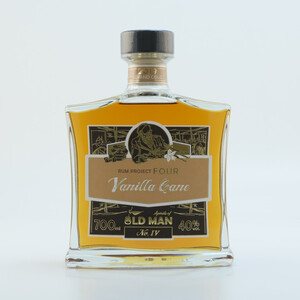 """Rum Project Four"" (Vanilla Cane) by Spirits of Old Man 40% 0,7l + Glas"
