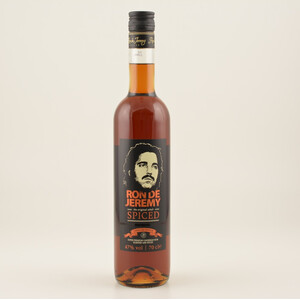 Ron de Jeremy Spiced Hardcore Edition (Rum-Basis) 47% 0,7l