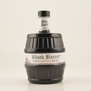 A.H. Riise Black Barrel Navy Spiced (Rum-Basis) 40% 0,7l