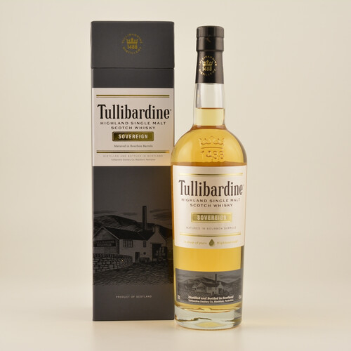 Tullibardine Sovereign Highland Single Malt Scotch Whisky 43% 0,7l