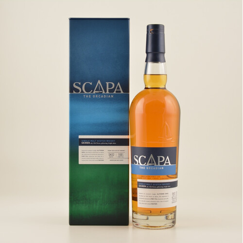 Scapa Skiren Single Malt Whisky 40% 0,7l + 2 Gratis Gläsern