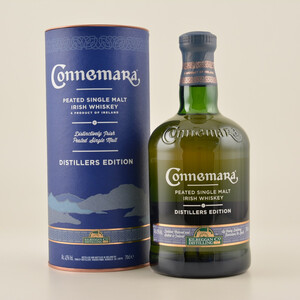 Connemara Peated Malt Distillers Edition Whiskey 43% 0,7l