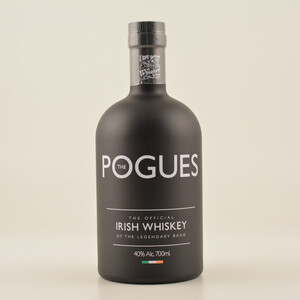 The Pogues The official Irish Whiskey of the Legendary Band 40% 0,7l