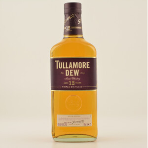 Tullamore Dew 12 Jahre Triple Distilled Irish Whiskey 40% 0,7l