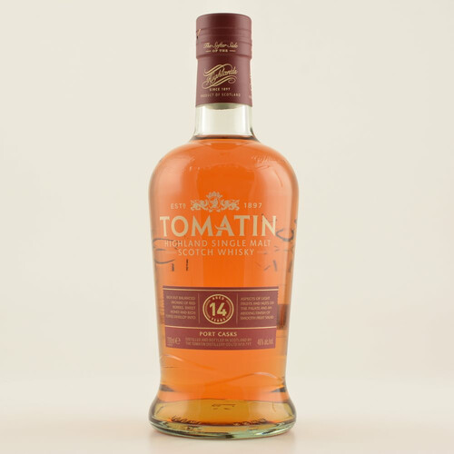 Tomatin 14 Jahre Port Cask Highland Single Malt Whisky 46% 0,7l