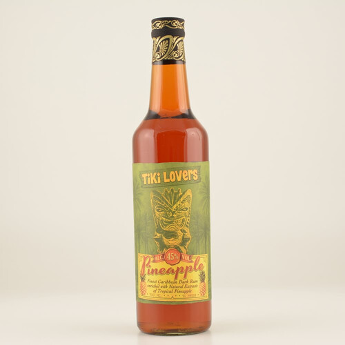 Tiki Lovers Pineapple Rum 45% 0,7l