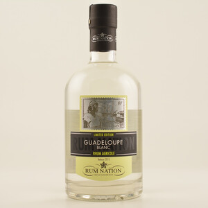 Rum Nation Guadeloupe Blanc Agricole 50% 0,7l