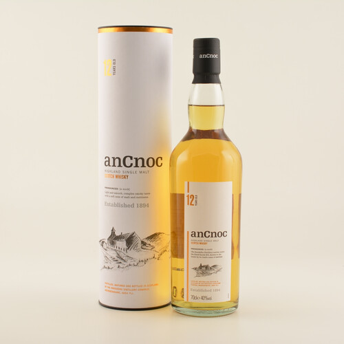 An Cnoc 12 Jahre Highland Whisky 40% 0,7l