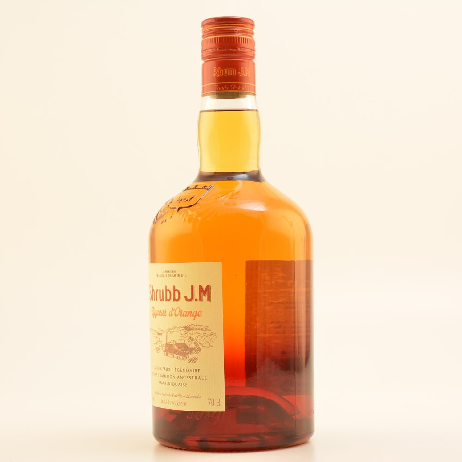 Rhum J.M Shrubb Liqueur d´Orange 35% 0,7l