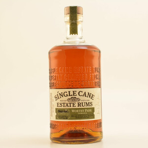 Single Cane Estate Rums Worthy Park Jamaica 40% 1,0l
