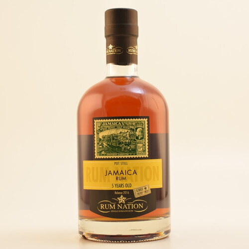 Rum Nation Jamaica 5 Jahre Oloroso Finish 50% 0,7l