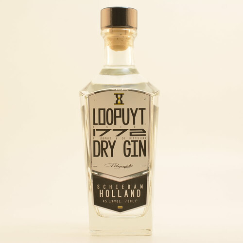 Loopuyt 1772 Dry Gin 45,1% 0,7l