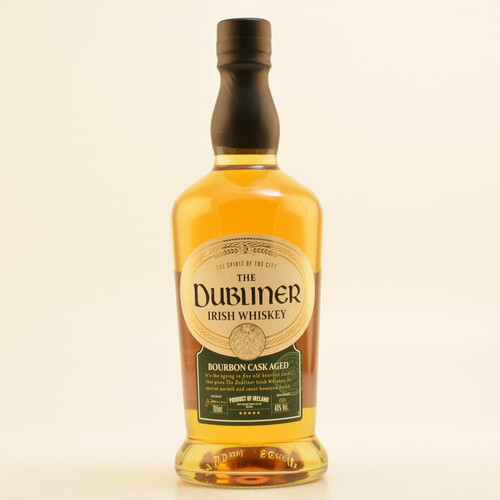 The Dubliner Irish Whiskey Bourbon Cask 40% 0,7l