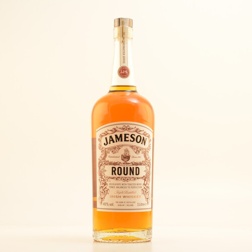 Jameson Round Irish Whiskey 40% 1,0l
