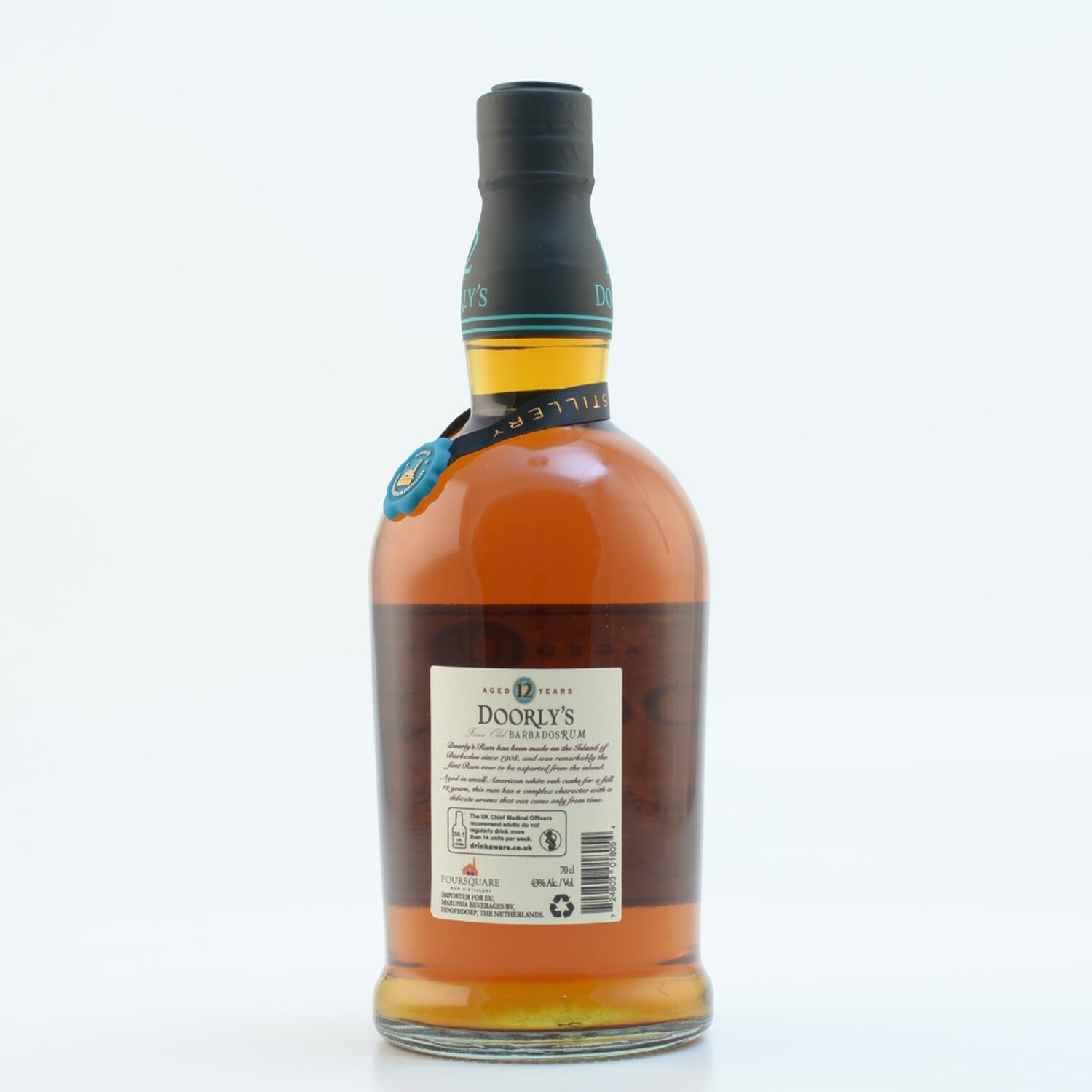 Doorly's 12 Jahre Fine Old Rum 40% 0,7l