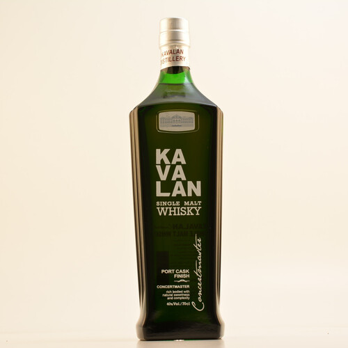 Kavalan Concertmaster Single Malt Whisky 40% 0,7l