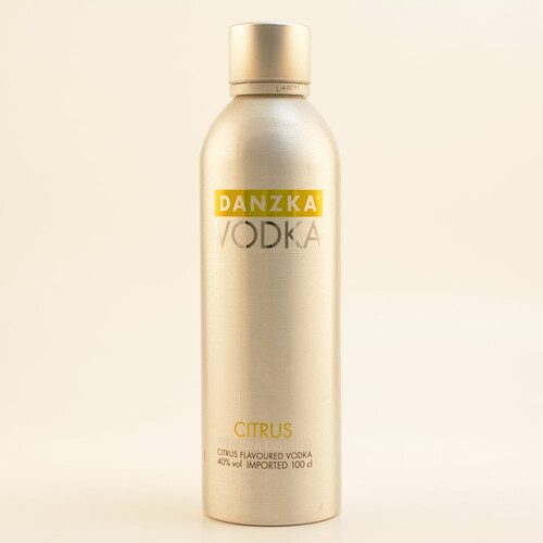 Danzka Vodka Citrus 40% 1,0l