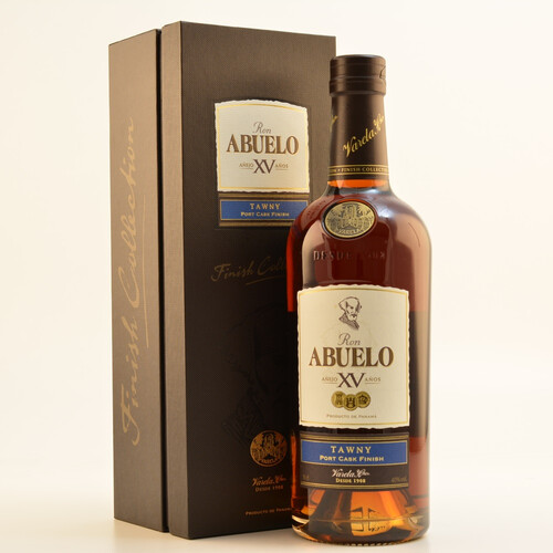 Ron Abuelo XV Tawny Port Finish Rum 40% 0,7l