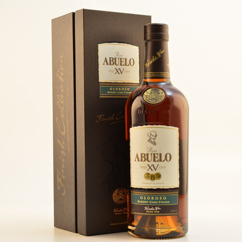 Ron Abuelo XV Oloroso Sherry Finish Rum 40% 0,7l