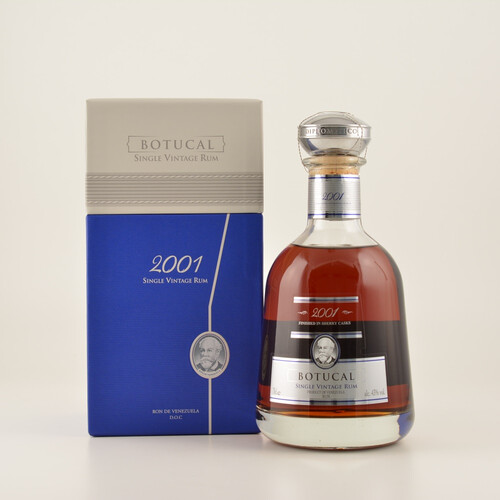 Ron Botucal 2001 Single Vintage Rum 43% 0,7l