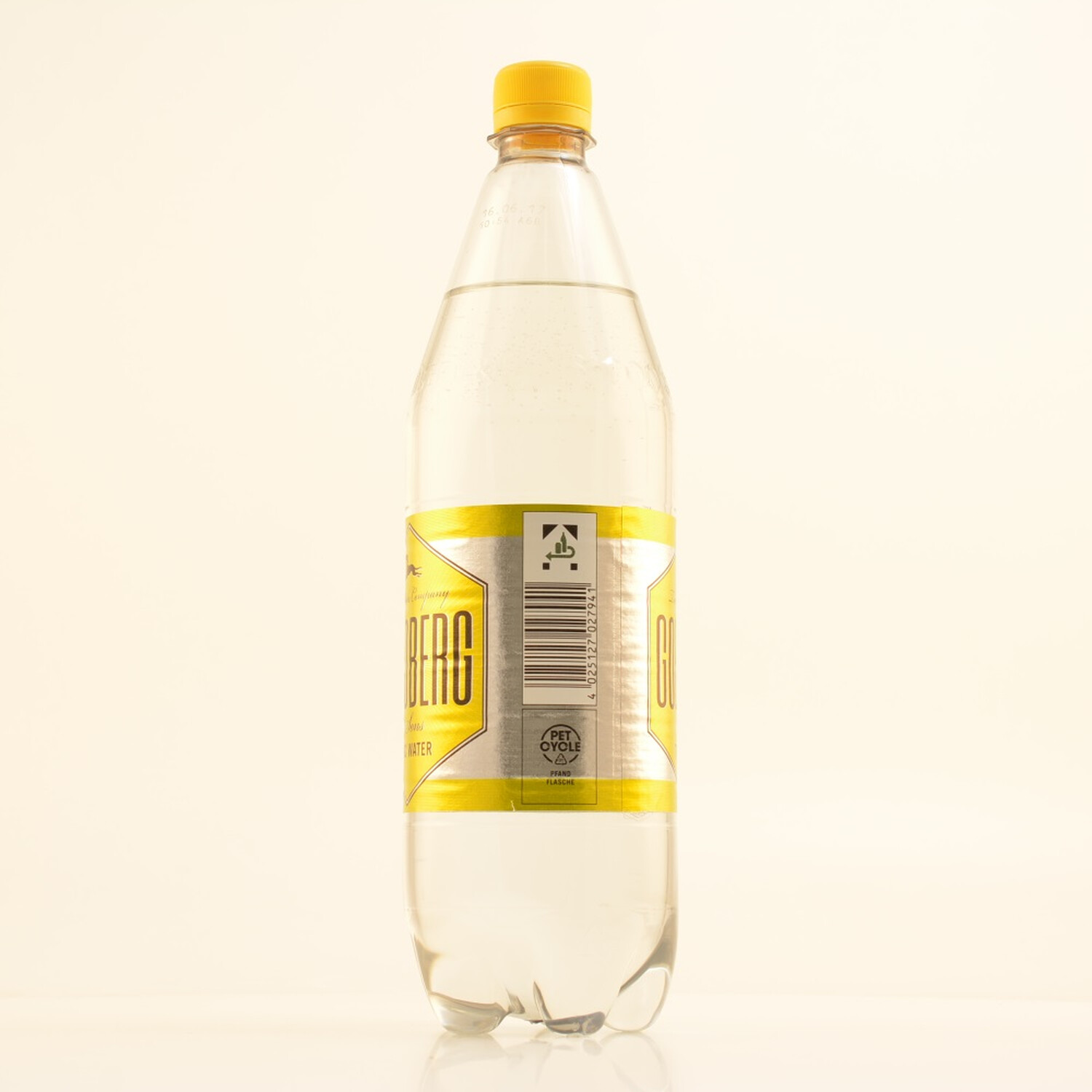 Goldberg Tonic Water 1 Liter Pet Flasche (kein Alkohol)