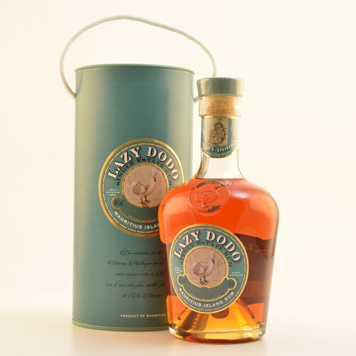 Lazy Dodo Single Estate Rum 40% 0,7l + Gratis Glas & Coaster