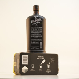 Dictador Colombian Aged Black Gin (Treasure) 43% 0,7l + Gratis Goldberg Tonic