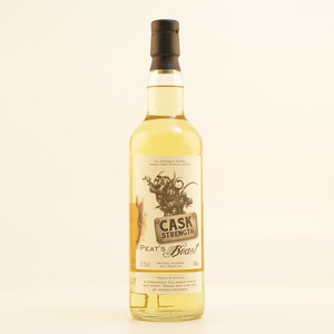 Peat's Beast Cask Stength Whisky 52,1% 0,7l