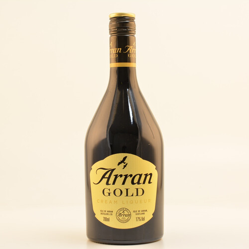 Arran Gold Cream Likör 17% 0,7l